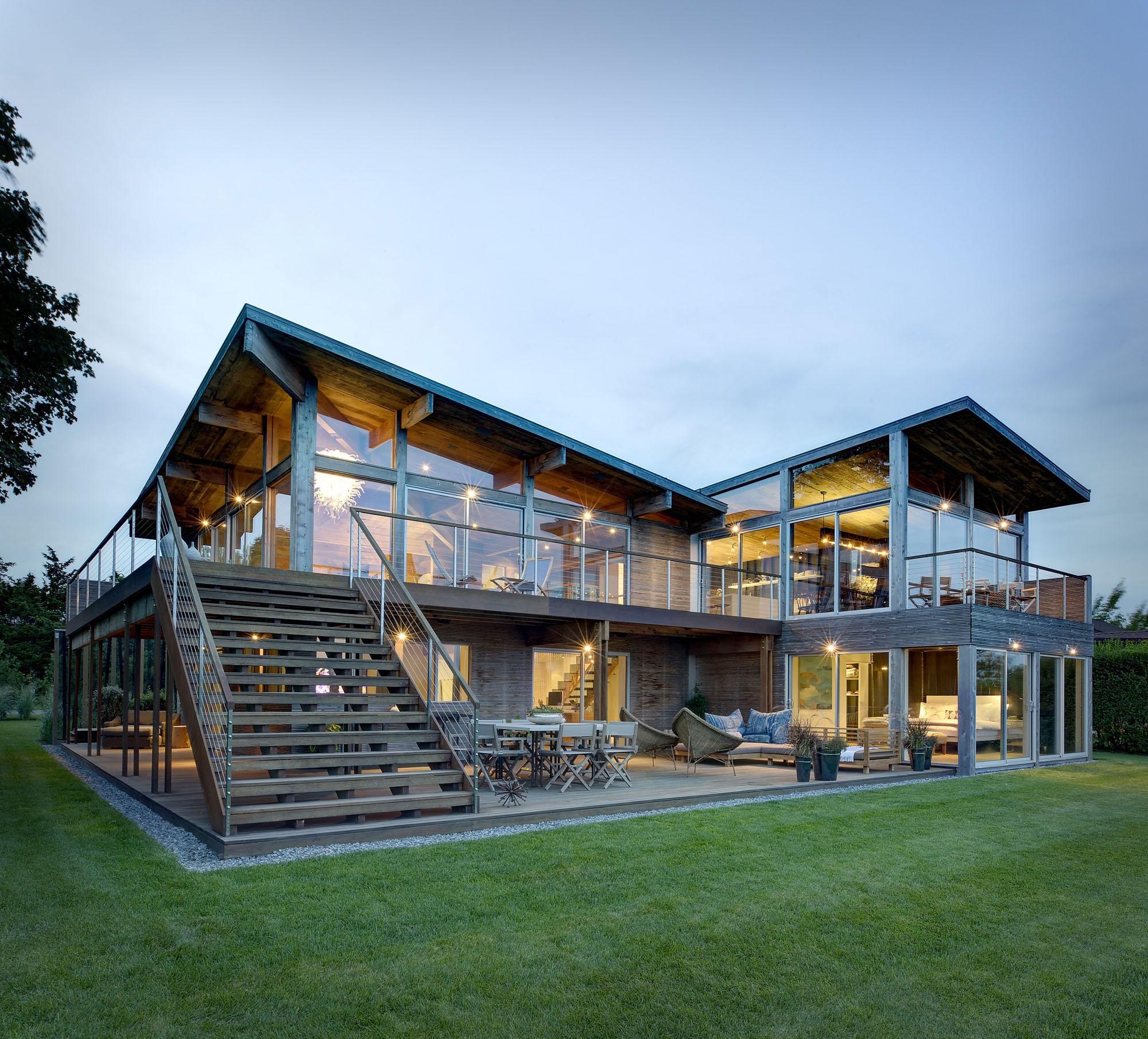 Villazeon Prefab Prefabricated Steel Luxury Wooden Homes